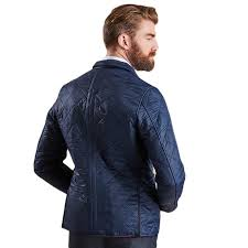 Racer Quilted Jacket | Barbour - Tide and Peak Outfitters & ... Racer Quilted Jacket in Navy by Barbour ... Adamdwight.com