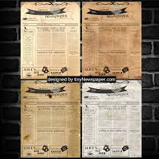 Old Time Newspaper Template Word Vintage Newspaper Template Google Docs Mockup Vintage