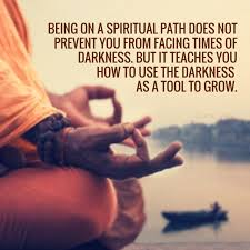 Spirituality Quotes Classy Being On A Spiritual Path Does Not Prevent You From Facing Times Of