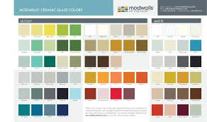 modwalls ceramic glaze color options