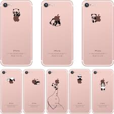 Best Iphone 6 Case Design Us 2 49 Ciciber Phone Case Lovely Interesting Panda Design Clear Silicone Tpu Cover For Iphone 11 Pro Max 6 S 7 8 Plus 5s Se X Xr Xs Max In Fitted
