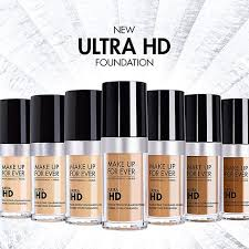 shades colors skin tones for ever ultra hd foundation liquid beauty review best makeup