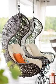swinging patio chairs