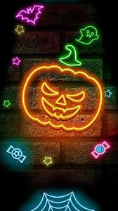 Halloween Neon Lights Neon Halloween Wallpapers Top Free Neon Halloween