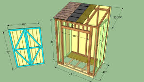 Lean To Garden Shed Designs Build A Wooden Lean To Shed