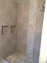 interior shower border tile stylish bathroom glass mosaic tiles decorative borders fall door intended for