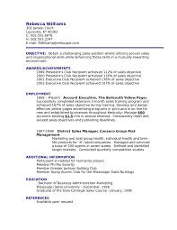 Resume Objective Example Examples Hospitality Management Samp Sevte