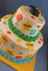 Pre School Graduation Cake Cute With All The Kids Names Preschool