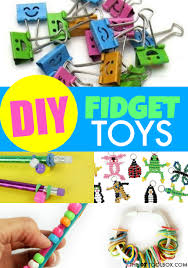 kids can use these diy fidget toys to help with attention and sensory needs in the clroom or at home