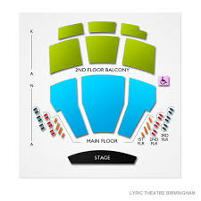 Bjcc Theatre Seating Chart Lyric Theatre Birmingham Tickets