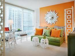 orange wall decor ideas