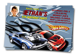 hot wheels car invitations printable boy birthday party invite hot wheels car invitations printable boy birthday party invite your boys photo you