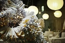 paper cones wedding. paper cone wedding art installation cones