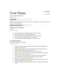 Customer Service On A Resume Sample Resume Customer Service The ...