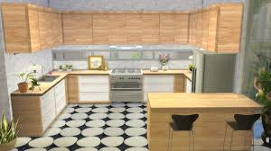 No Backsplash In Kitchen Mod The Sims Kitchen From Perfect Patio Stuff No Backsplash