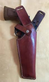 dkm leathers vertical shoulder holster revolver by image 0