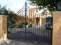 Decorative Gate Designs The Iron Gates Custom Design Driveway Iron Gate The Iron Gates Metal 2