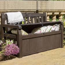 outdoor storage bench patio box 70