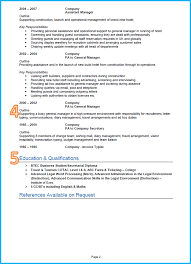 example of a perfect resumes example of a good cv 13 winning cvs get noticed