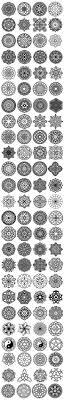 100 Vector #Mandala Ornaments by pixaroma on @creativemarket