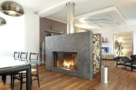 two sided fireplace modern home design extraordinary luxurious double wood for indoor outdoor burning
