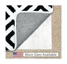 non skid area rugs gorilla grip feet non slip area rug pad for carpet in rugs