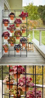 Create Kitchen Garden An Easy Way To Create A Vertical Grid Garden In Your Home