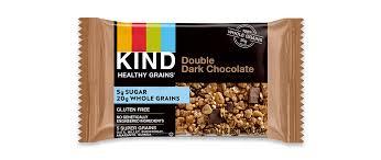 double dark chocolate kind snacks double dark chocolate kind snacks kind healthy grains bars