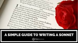 write a sonnet tips and exles