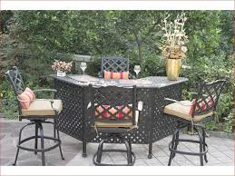 baner garden k35bl 4 piece outdoor furniture set luxury tall patio table image collections bar height