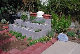 Small Picture Raised Garden Bed concrete block VYNNIE THE GARDNER Flickr