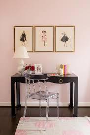 pink and black kids room