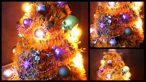 diy halloween room decor tree youtube
