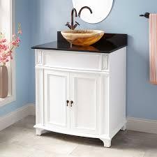 kinloch vessel sink vanity  white  bathroom vanities  bathroom