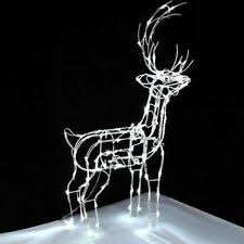 noma 24 outdoor battery operated led christmas lights. noma indoor outdoor christmas xmas led standing deer light figure - 89cm 24 battery operated led lights o