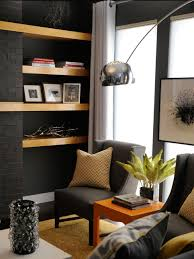 Living Rooms With Black Furniture Rooms Viewer Hgtv