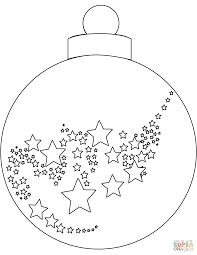 Christmas Tree Ornaments Printable Templates Coloring Pages Swifte Us