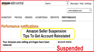 Suspension Reinstated Youtube Account Get Central Amazon Seller -