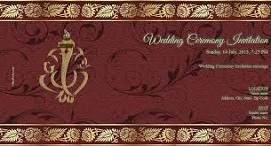 E Wedding Invitations Free Indian With Printed Samples Wedding