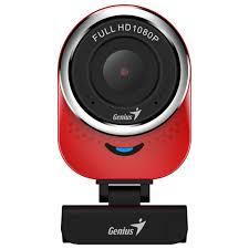 Веб-камера Genius QCam 6000 Full HD Red ... - ROZETKA