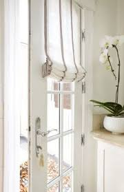 front door window coveringsa little sparkle My 4 Window Covering  Kitchen  Pinterest