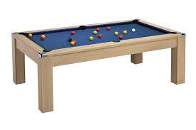 avant garde 2 0 slate bed pool dining table table finish oak cloth colour
