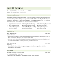 it technical resume sample thumb military resume example