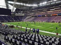 Minneapolis Us Bank Stadium Seating Chart Us Bank Stadium View From Section 127 Vivid Seats