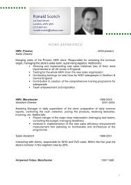 Examples Of Cv Resume. How To Write A Cv Curriculum Vitae Sample ...