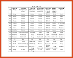 plan daily schedule daily routine schedule template time study example daily routine