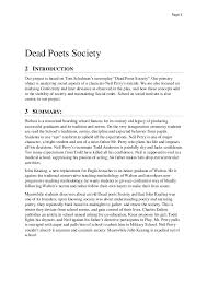 sociological perspective of the movie dead poets society