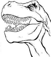 T Rex Coloring Pages Super Cool Ideas T Rex Color Page Tyrannosaurus