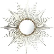 silver sunburst mirror gold or silver sunburst starburst wall mirror