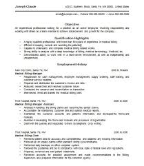 Medical Billing Resume Inspiration 4315 Medical Billing Resume 24 Examples Techtrontechnologies